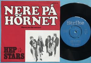 HEP STARS - Blue suede shoes / Nere på hörnet Swe PS 1970
