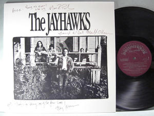 JAYHAWKS s/t US-orig LP 1986 SIGNED by all!