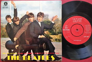 BEATLES - All my loving +3 Swe EP 1963 Superrare RÖD label