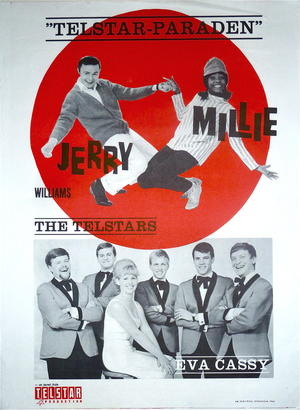 JERRY WILLIAMS & MILLIE SMALL (1965) - Turneaffisch