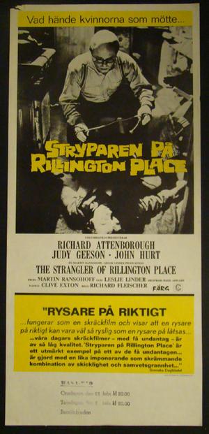 STRYPAREN PÅ RILLINGTON PLACE (RICHARD ATTENBORUGH)