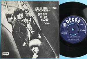 ROLLING STONES - Get off of my cloud UK-export/Dansk PS 1965