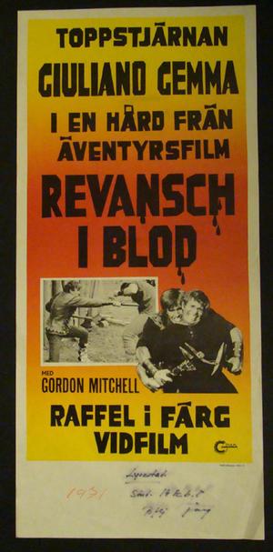 REVANSCH I BLOD (GORDON MITCHELL)