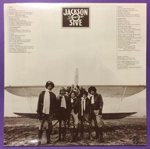 JACKSON 5 - Skywriter US-orig LP 1973 OÖPPNAD!