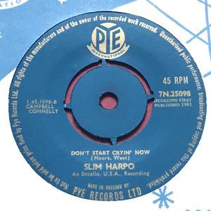 SLIM HARPO - Rainin´ in my heart UK 45 1961