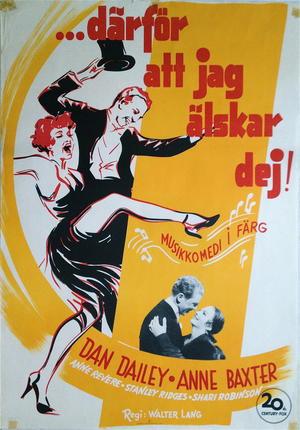 DÄRFÖR ATT JAG ÄLSKAR DEJ (1949)