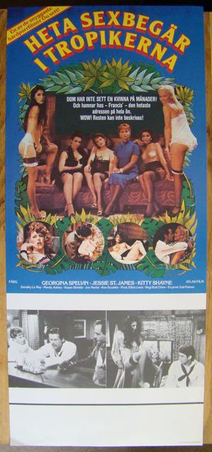 Heta sexbegär i tropikerna - Georgina Spelvin (1980)