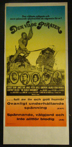 DEN VILDE PIRATEN (ROBERT SHAW)