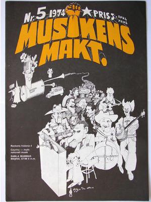 MUSIKENS MAKT no 5, 1974