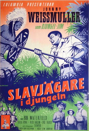 DJUNGEL-JIM - JUNGLE MANHUNT (1951)