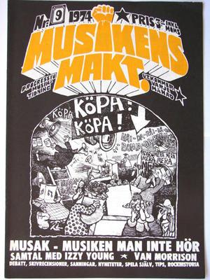 MUSIKENS MAKT no 9, 1974