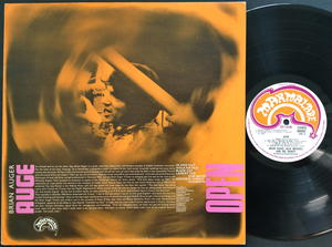 BRIAN AUGER, JULIE DRISCOLL & TRINITY - Open UK-orig LP 1967