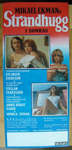Mikael Ekmans STRANDHUGG i somras  (1972)
