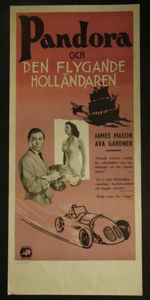 PANDORA OCH DEN FLYGANDE HOLLÄNDAREN (JAMES MASON, AVA GARDNER)