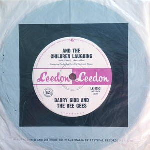 "BARRY GIBB & BEE GEES - I was a lover, leader of men Aus-orig 7"" 1965"