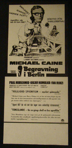 FUNERAL IN BERLIN (MICHAEL CAINE)