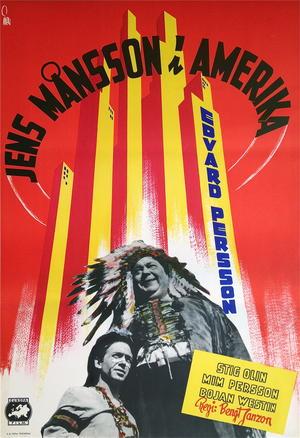 JENS MÅNSSON I AMERIKA (1947)