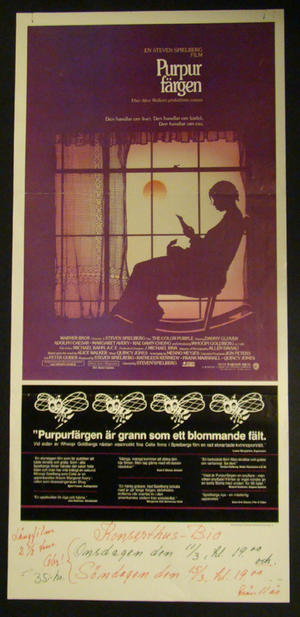 THE COLOR PURPLE (DANNY GLOVER, WHOOPI GOLDBERG )