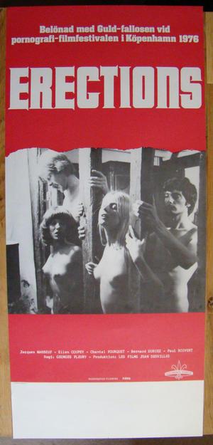 ERECTIONS Belönad med Guldphallosen 1976