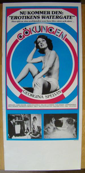 GÖKUNGEN - Georgina Spelvin - Poster 1970´s