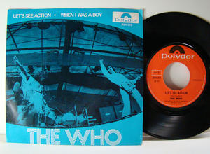 """WHO - Let´s se action 7"""" Norway 1971"""