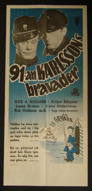 91:an KARLSSONS BRAVADER (GUS & HOLGER, FRITJOF BILLQVIST)