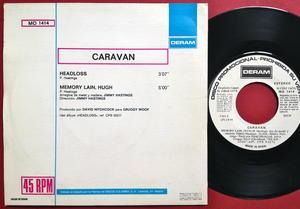 CARAVAN - Memory loss Spanien Rare Promo PS 1974