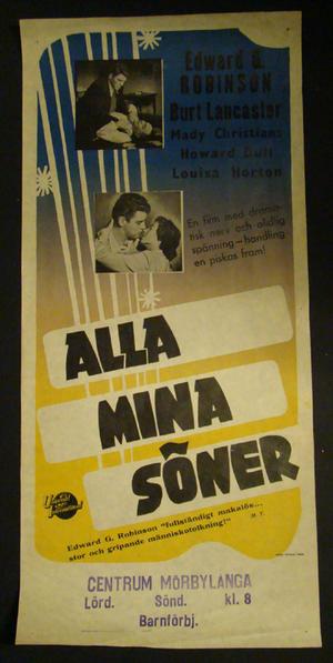 ALLA MINA SÖNER (BURT LANCASTER, LOUISA  HORTON)