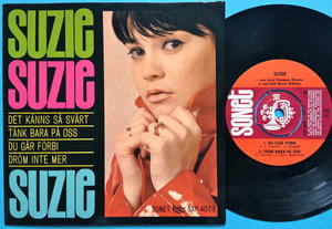 SUZIE - Det känns så svårt +3 Swe EP 1966