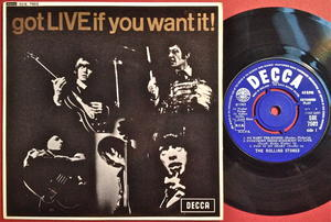 ROLLING STONES - Got LIVE if you want it! UK-EXPORT EP 1965