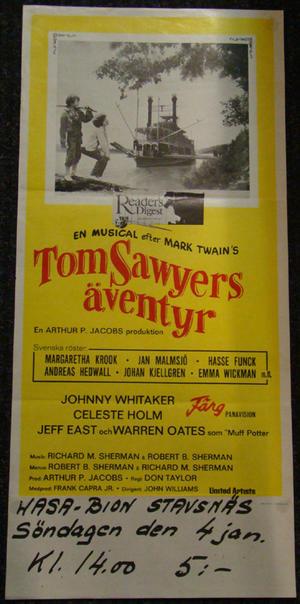 TOM SAWYERS ÄVENTYR (JOHNNY WHITAKER)