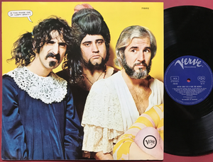 MOTHERS OF INVENTION - We´re only in it for the money Norsk-orig LP 1968