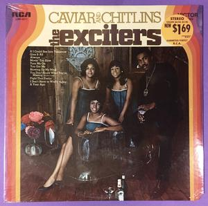 EXCITERS - Caviar & chitlins US-orig LP 1969 OÖPPNAD!