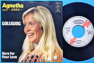 AGNETHA FÄLTSKOG - Golliwog TYSK PROMO PS 1974