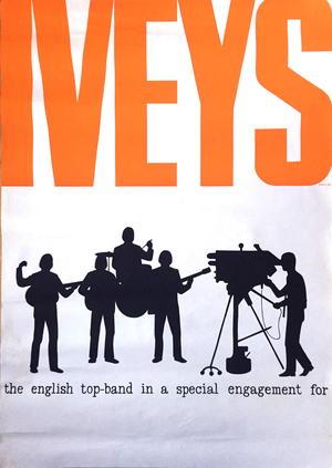 IVEYS (1966-67) Turnéaffisch