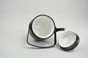 Kaffepanna 0,6 l, emalj, Onnimanni, Virva (SÅLD)