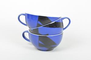 Teekupit, 3 kpl, Domino Combo (MYYTY)