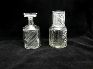 Karahvit 2 kpl+ lasi, Flindari, Kirkas (MYYTY)