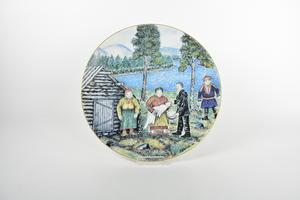 Taidelautanen 1984, Lapsen kastajaiset, AA