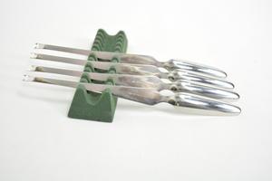 Kräftbestick, 4 st, Scandia/Ideal, KF