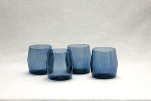 Selterglas 4 st, I-103 glas, blå