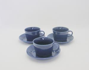 Kaffekoppar, 3 st, Kilta, blå