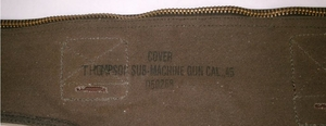 Canvasväska Thompson kulsprutepistol