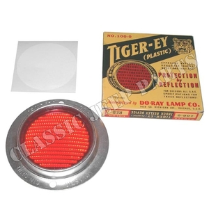 """Reflex reflector  WILLYS MB early """"Tiger Ey"""""""
