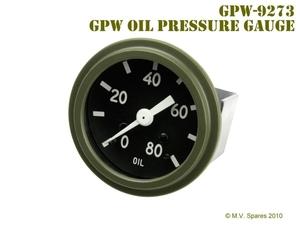 Gauge oil pressure FORD GPW