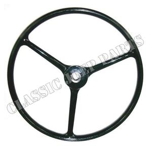Steering Wheel black early SHELLER-script