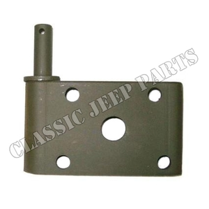 Leaf spring plate right front WILLYS MB FORD GPW