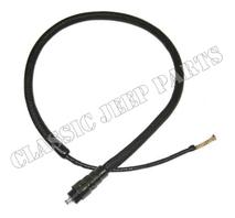 Bakljuskontakt enkel med kabel och canvashölje