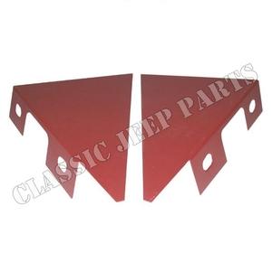 Repair panels front fender lower brackets pair