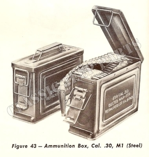 Ammobox Cal .30 Restored